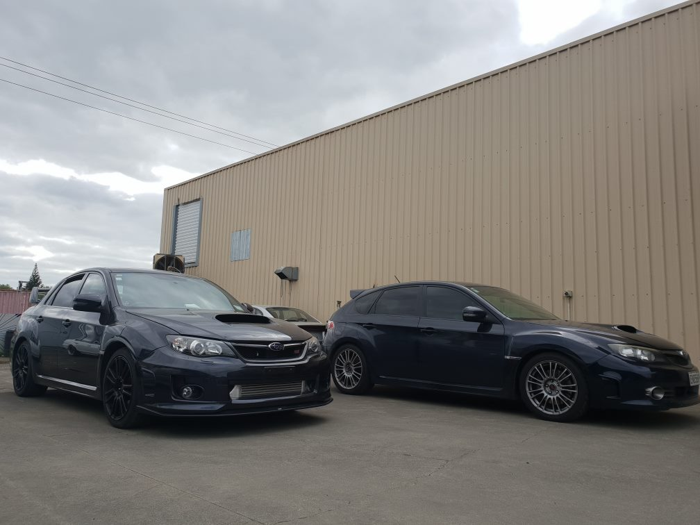 V11 STI (Hatch) and V11 STI Facelift (Sedan)