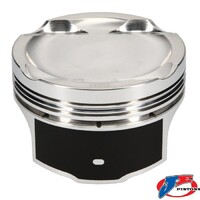 JE Mitsubishi 4G63 Forged Piston Set FSR EVO 4-9 Bore Size: STD Compression Ratio: 9.0:1