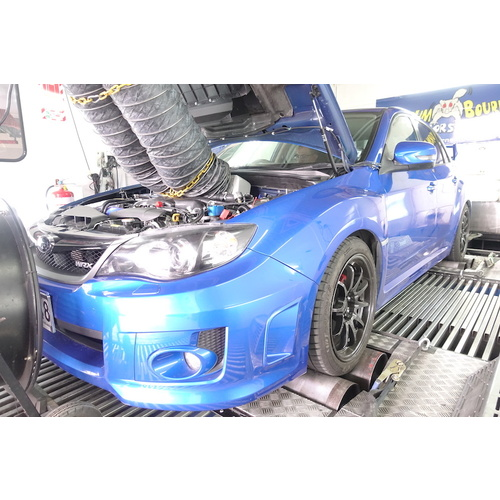 Big power WRX on Stock Block & Turbo using E85